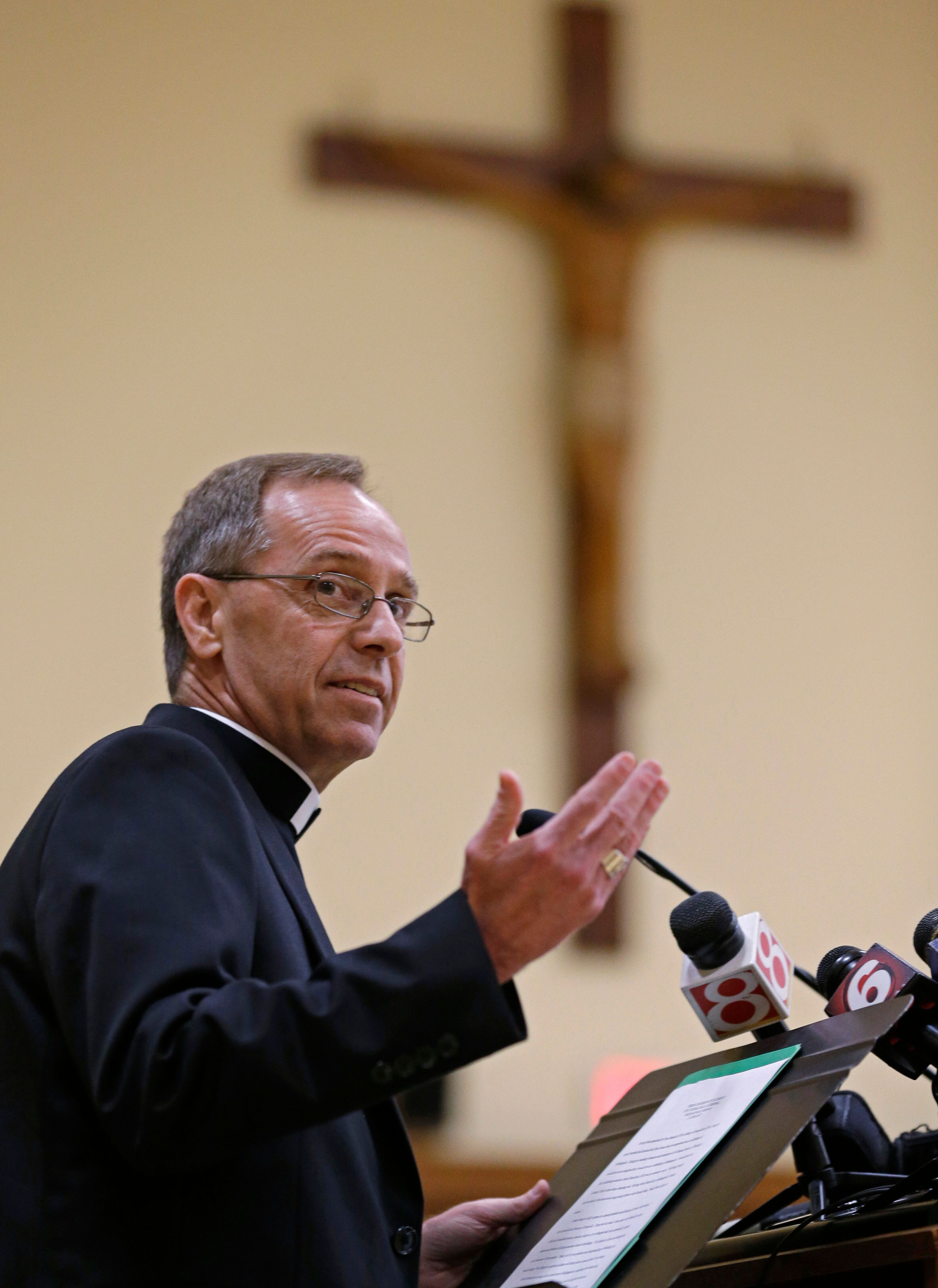 Archbishop Charles Thompson became leader of the Archdiocese of Indianapolis in 2017.