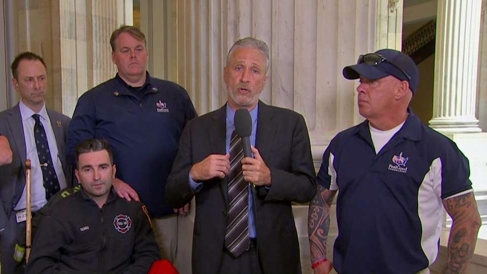 Jon Stewart on his emotional testimony and effort to push Congress to save 9/11 Victim Compensation Fund