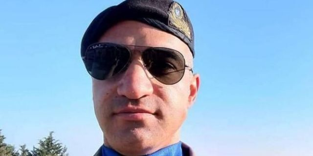An undated picture taken from the Facebook page of 35-year-old Greek Cypriot army officer Nicos Metaxas, on April 26, 2019, shows him posing for a selfie.(AFP/Getty Images)