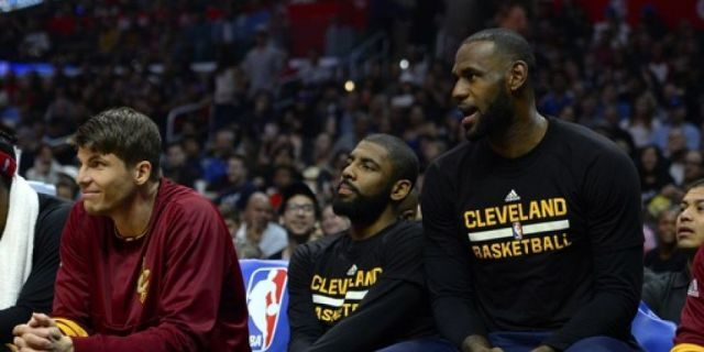 Could Irving team up with LeBron James again? (Photo by Robert Laberge/Getty Images)