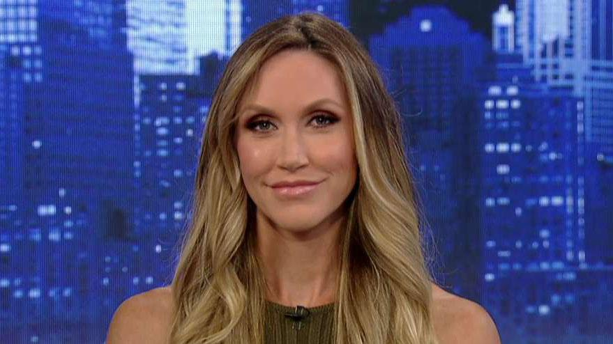 Lara Trump speaks out on restaurant worker splitting on her husband
