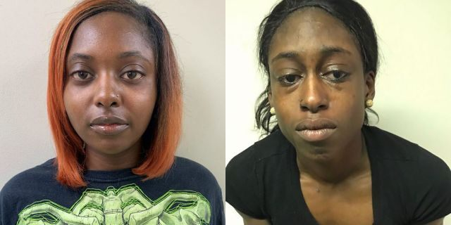 From the left, Marshae Jones was five months pregnant when she was shot in the stomach by Ebony Jemison, police said.