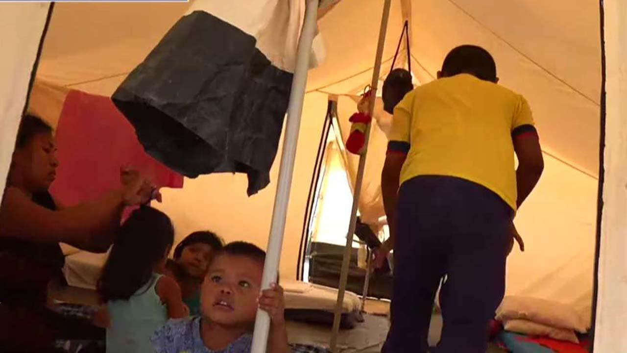 Crisis in Venezuela: UN sets up refugee camp in Maicao, Colombia