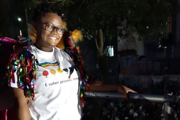 Rosi Mendes, 26, attended her first Pride parade this year.