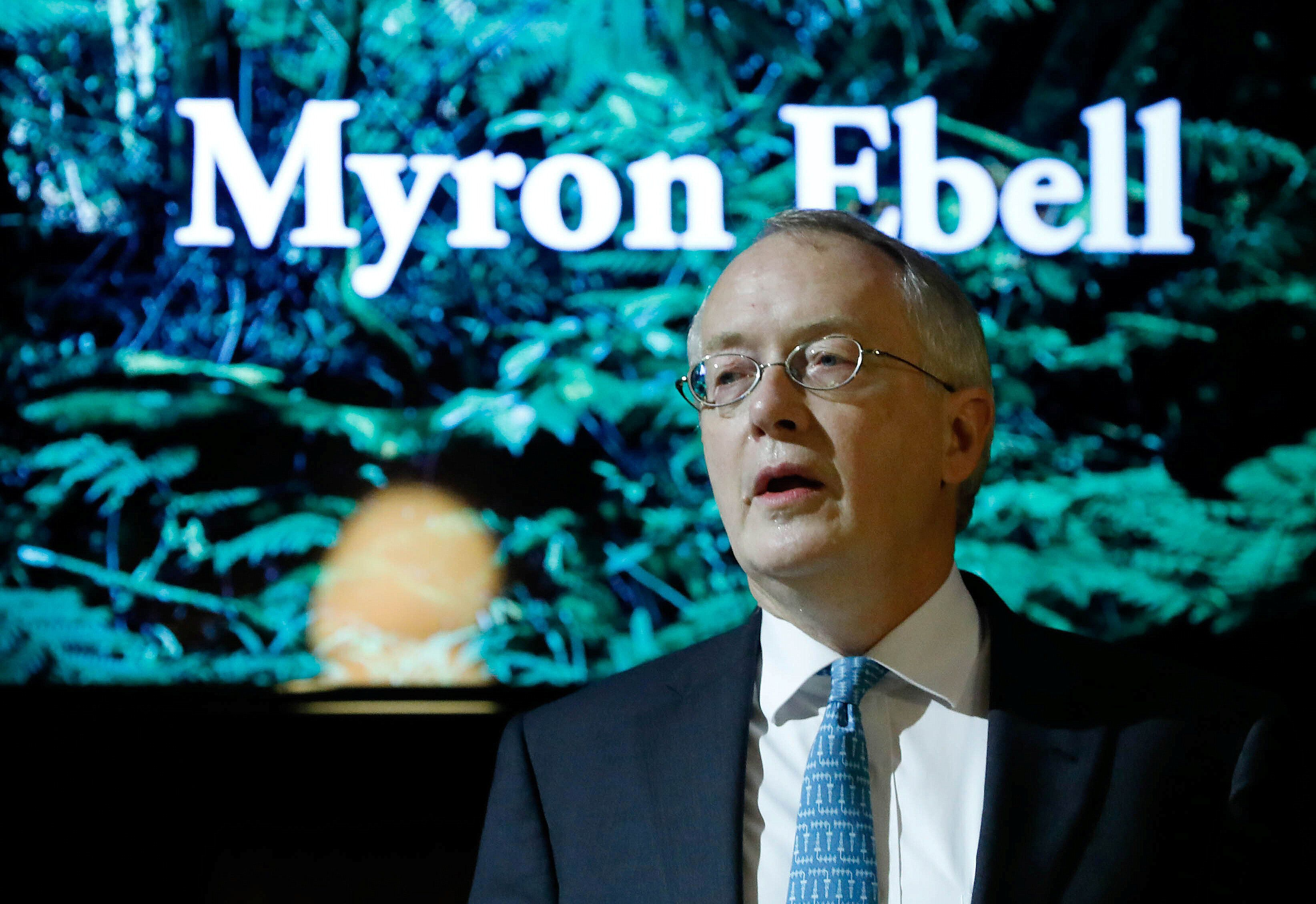 Myron Ebell, a climate change denier at the right-wing Competitive Enterprise Institute, led the Trump administration's trans