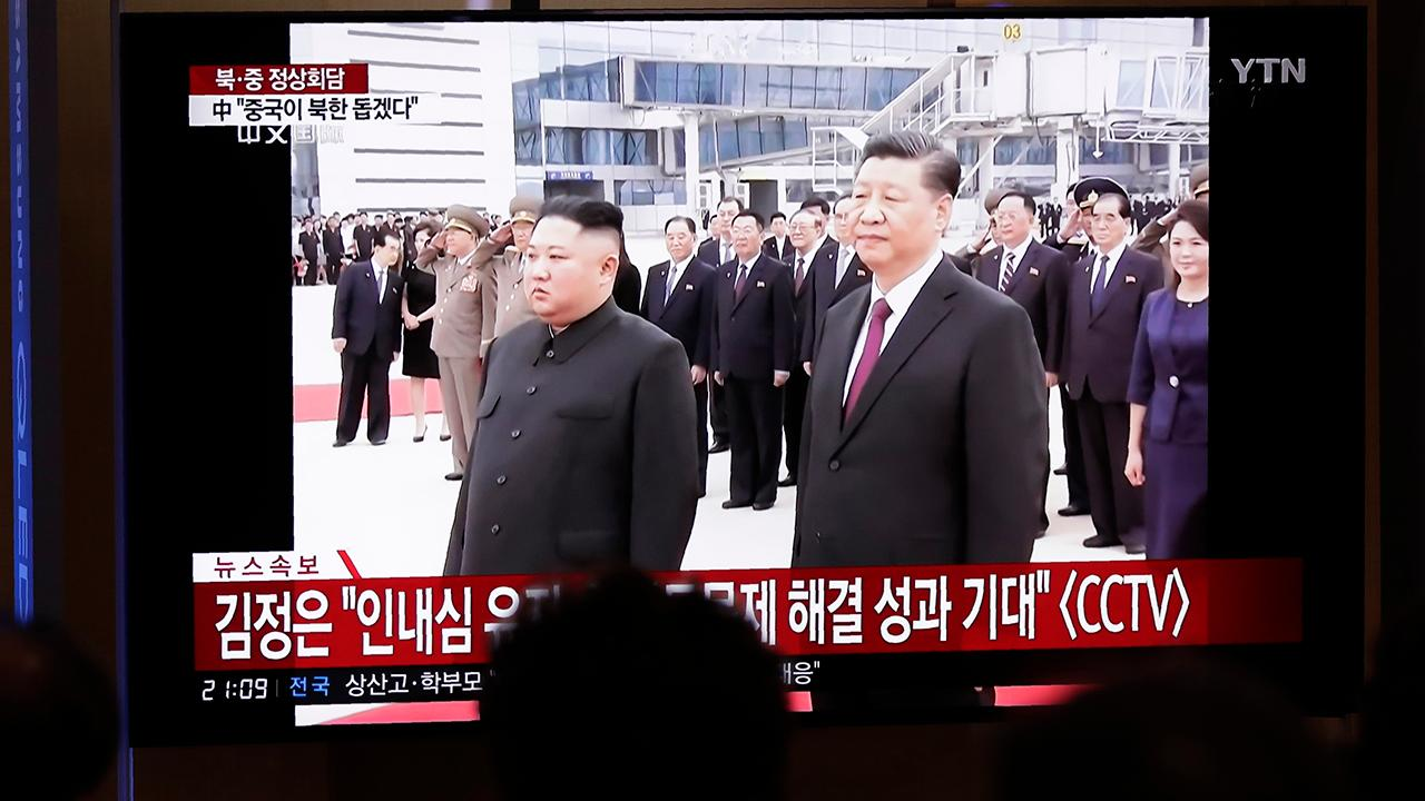 Chinese president arrives in North Korea for first visit in 14 years