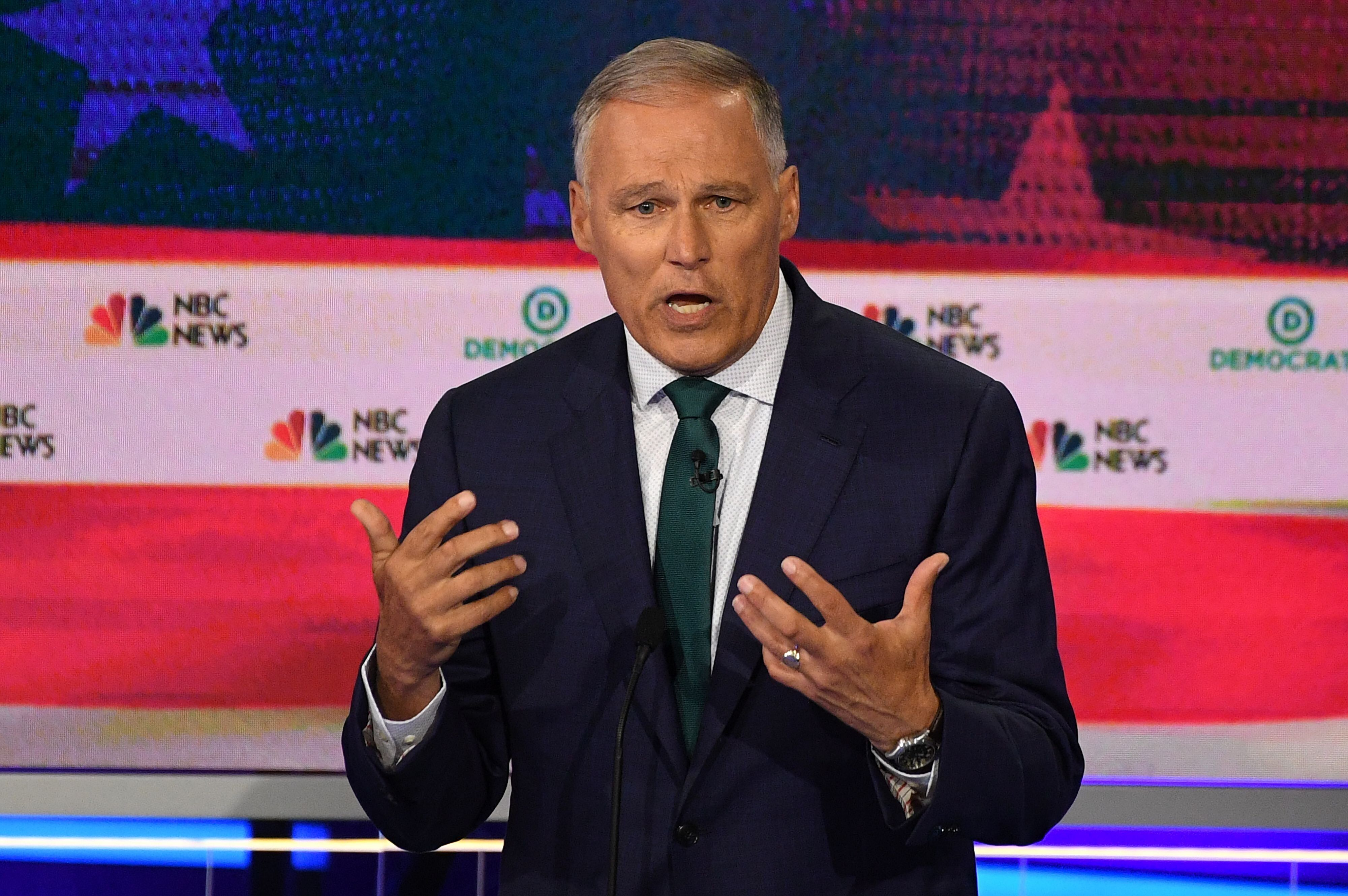Washington Gov. Jay Inslee is centering his White House run entirely on climate change.