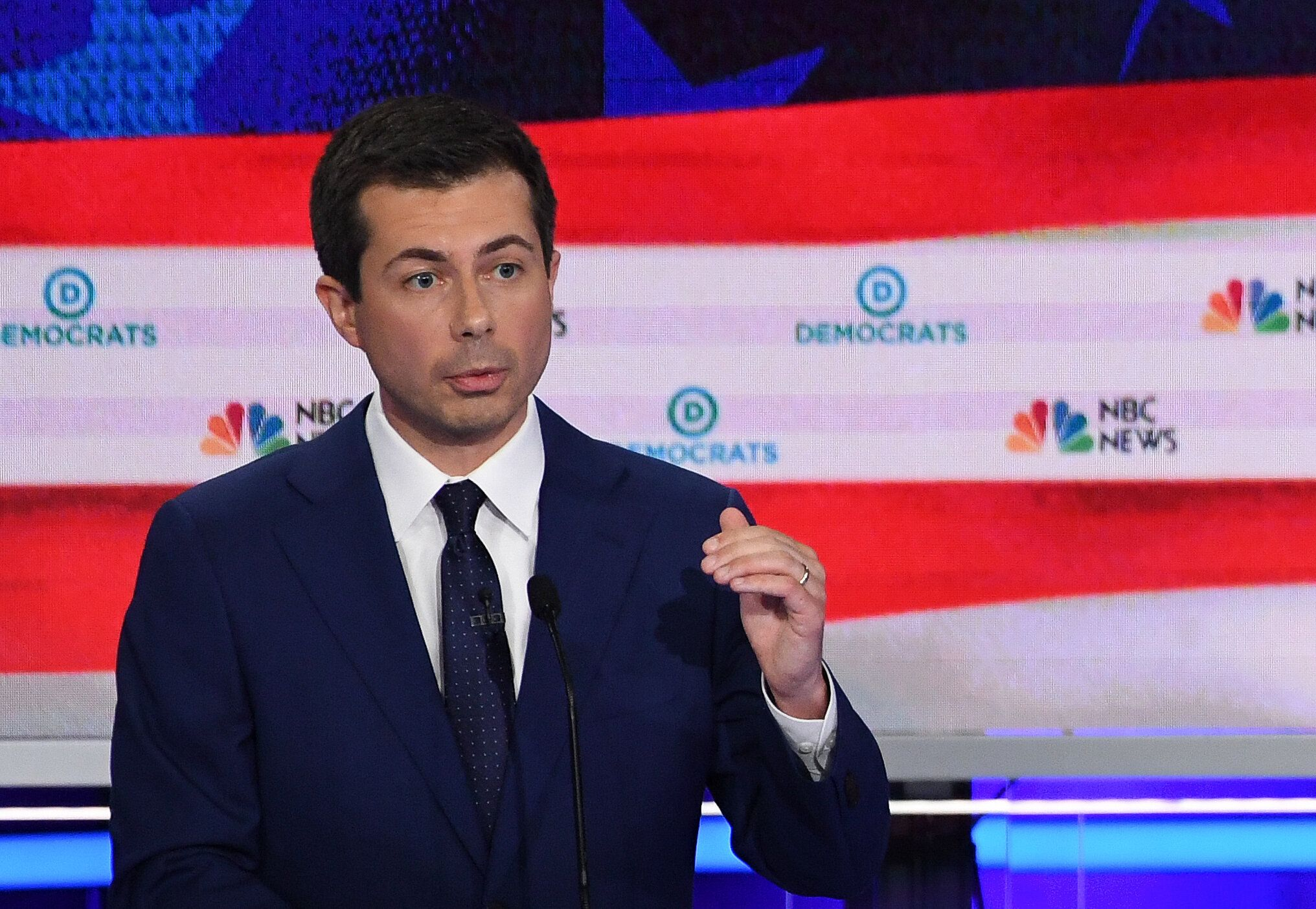 """Nothing that I say will bring him back,"" South Bend Mayor Pete Buttigieg said of 54-year-old Eric Logan."