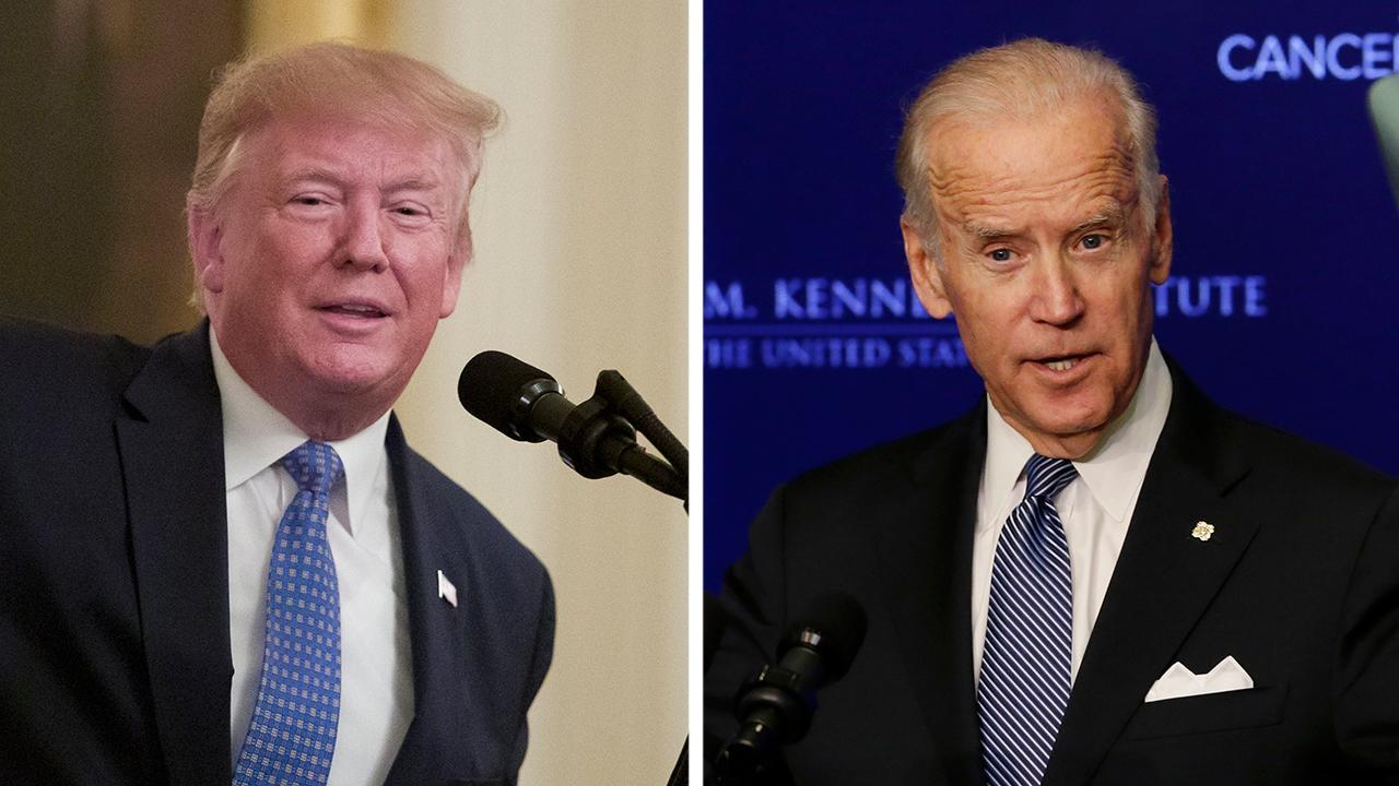 President Trump trolls Joe Biden over lack of Obama endorsement