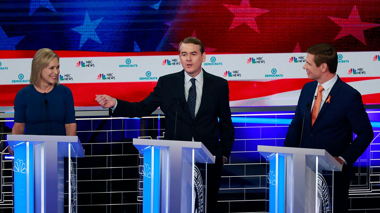 'The Five' pick their most cringe-worthy moments from the Democratic presidential debate