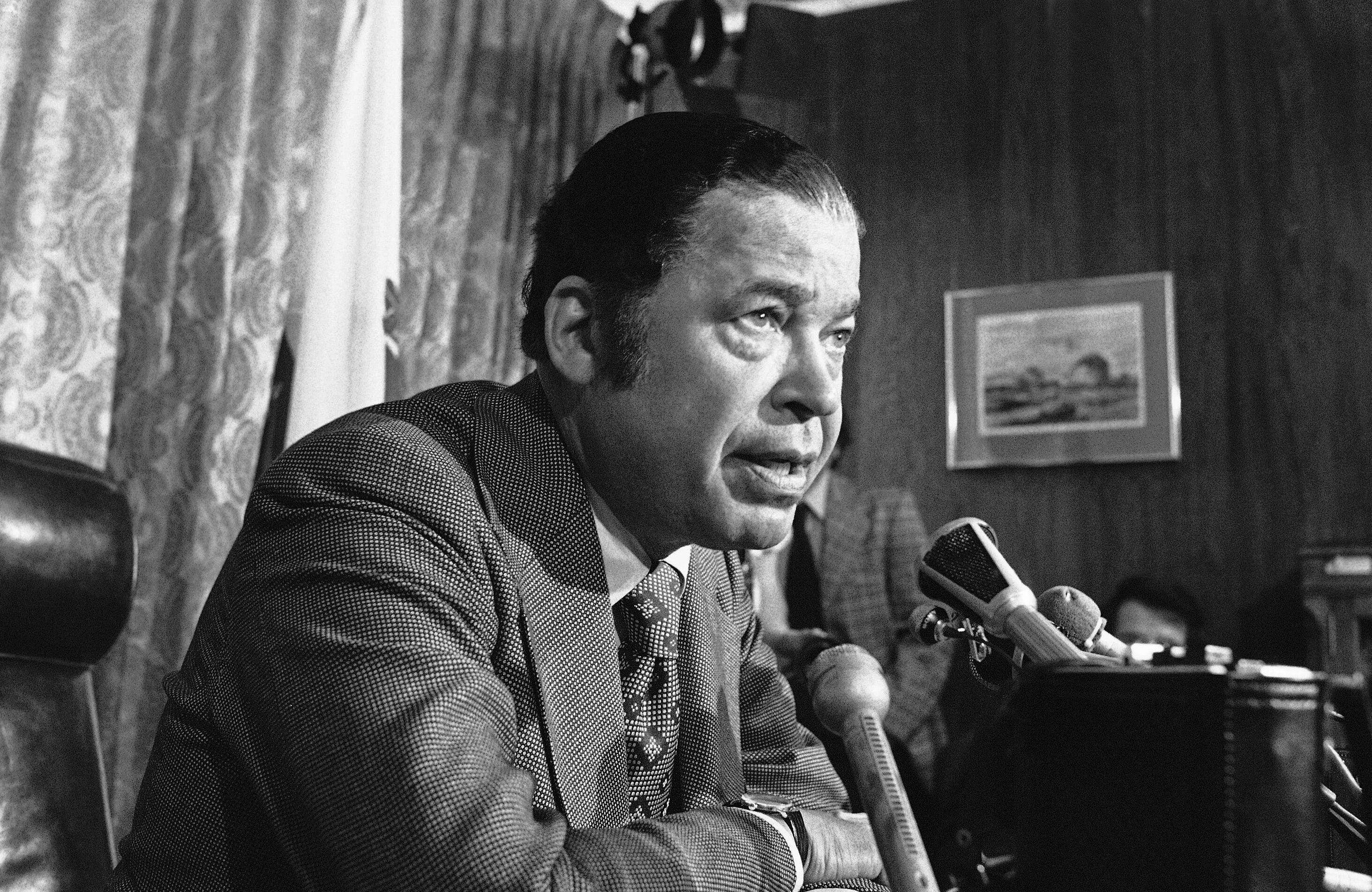 Sen. Edward Brooke (R-Mass.), the first black man elected to the chamber by popular vote, was a supporter of busing.