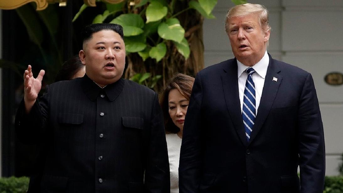 Flap over Trump citing Kim Jong Un