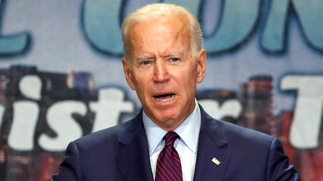 Joe Biden says he fought his heart out to ensure civil and human rights are enforced
