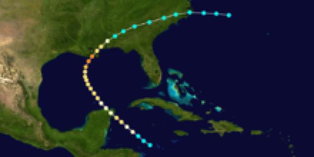 The Cheniere Caminada Hurricane struck in October 1893.