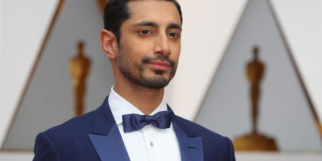 """Riz Ahmed arrives at the 89th Academy Awards in Hollywood, California on Feb. 26, 2017. The """"Rogue One: A Star Wars Story"""" actor says he's frequently profiled at airports and is concerned with the safety of Muslims in the world."""