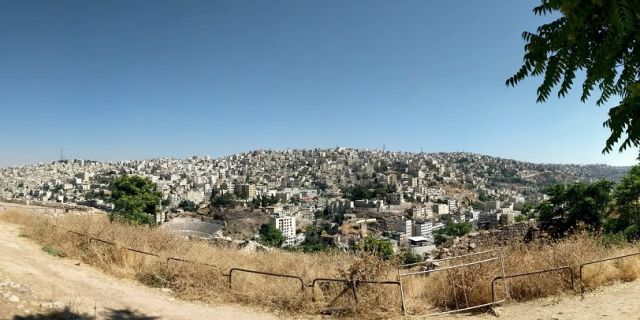 An overwhelming majority of these refugees, 81.4 percent are concentrated in urban centers such as Amman (pictured)