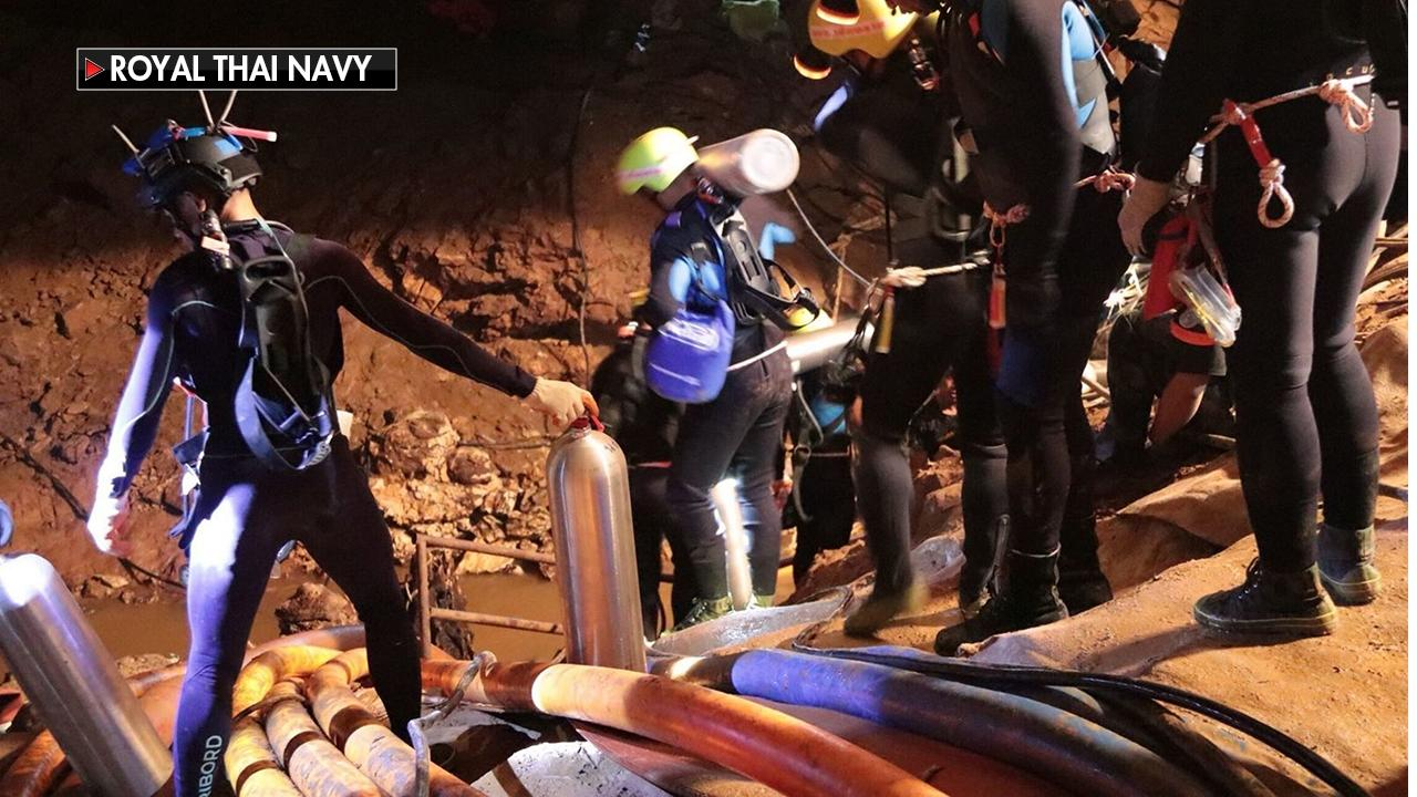 FLASHBACK: Thai cave: Entire soccer team rescued