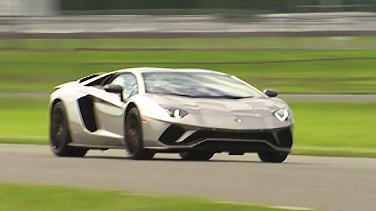 Behind the wheel of the world's second fastest car