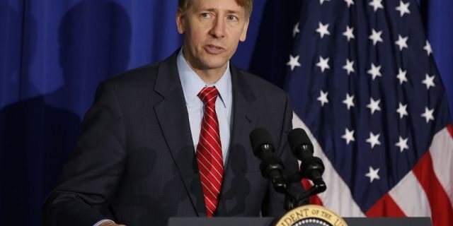 Richard Cordray resigned from his position as head of the Consumer Financial Protection Bureau on Nov. 24, 2017.