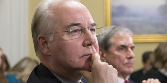 Health and Human Services Secretary Tom Price resigned from his position in September 2017 following reports that he used costly private plans at the taxpayers' expense.