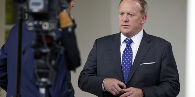 Sean Spicer resigned as White House press secretary after the administration hired Anthony Scaramucci.