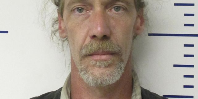 In this booking provided by the Guthrie, Oklahoma Police Department, Stephen Jennings is pictured. (Guthrie, Oklahoma Police Department via AP)