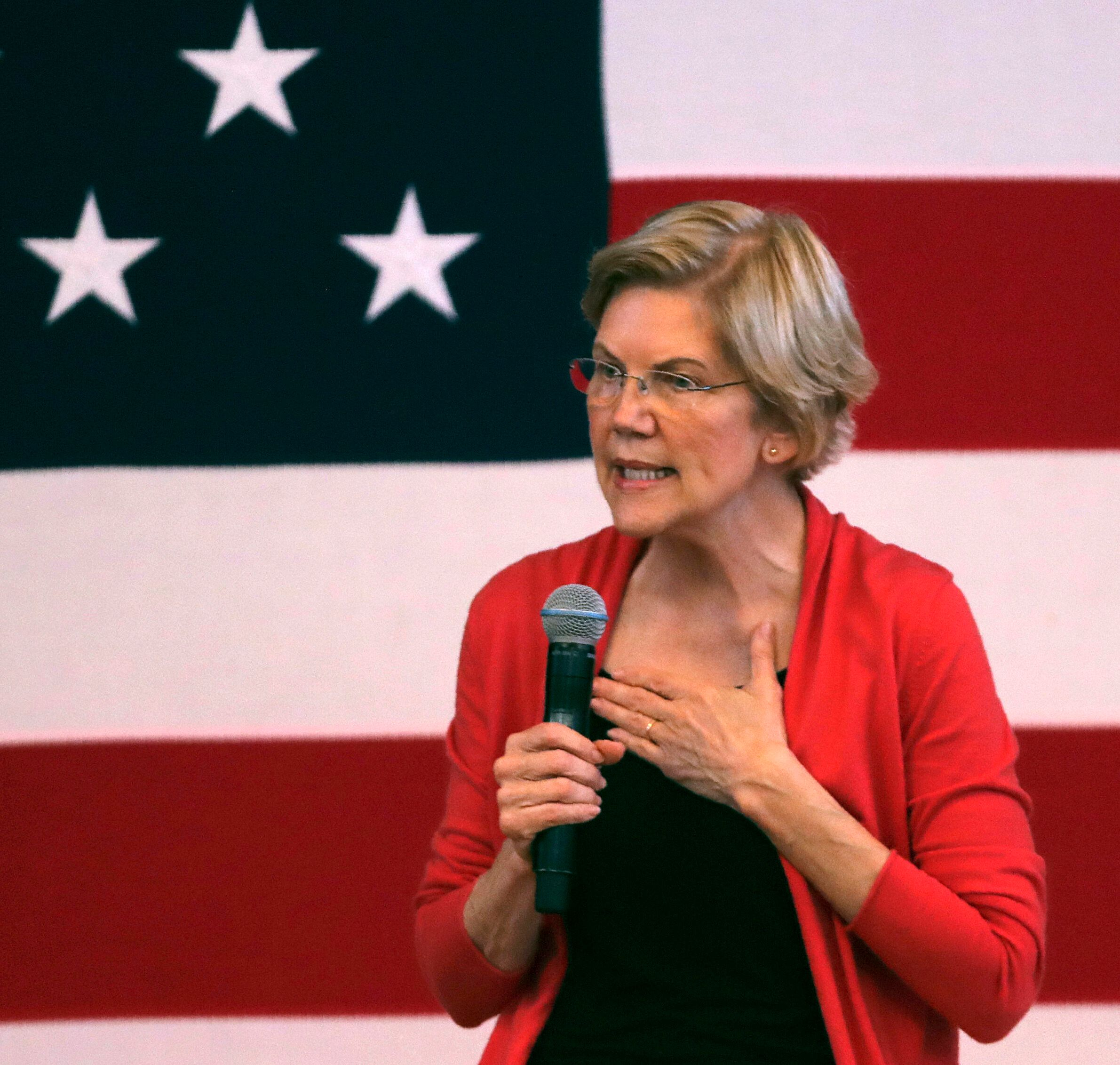 Sen. Elizabeth Warren (D-Mass.), whom some progressive activists see as a more capable spokesperson than Sanders on racial ju