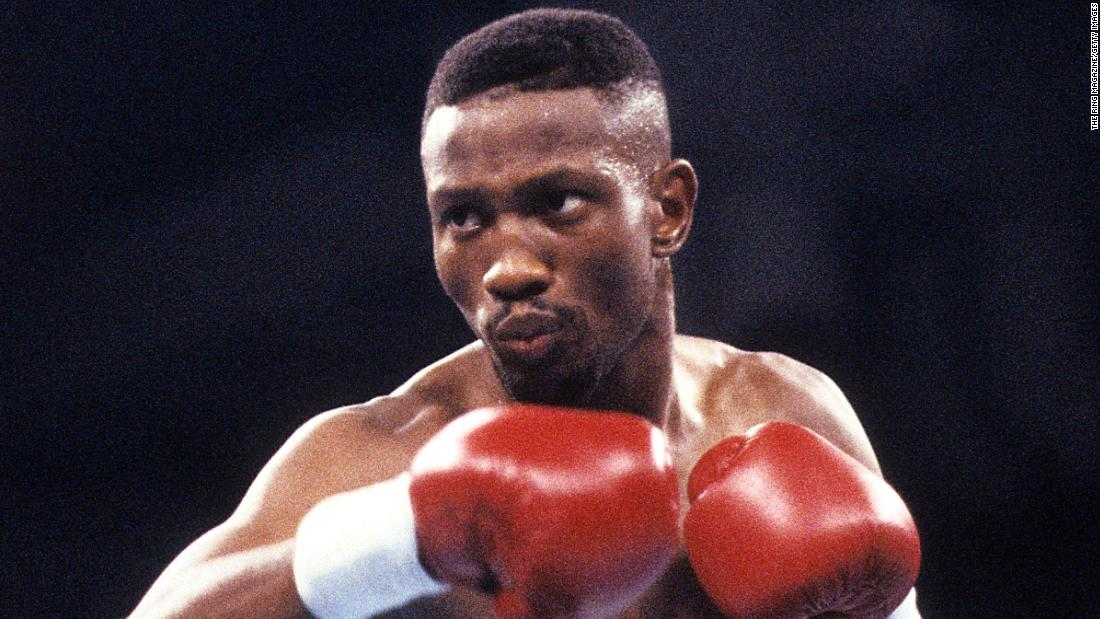 Legendary boxer Pernell 'Sweet Pea' Whitaker dies after he's