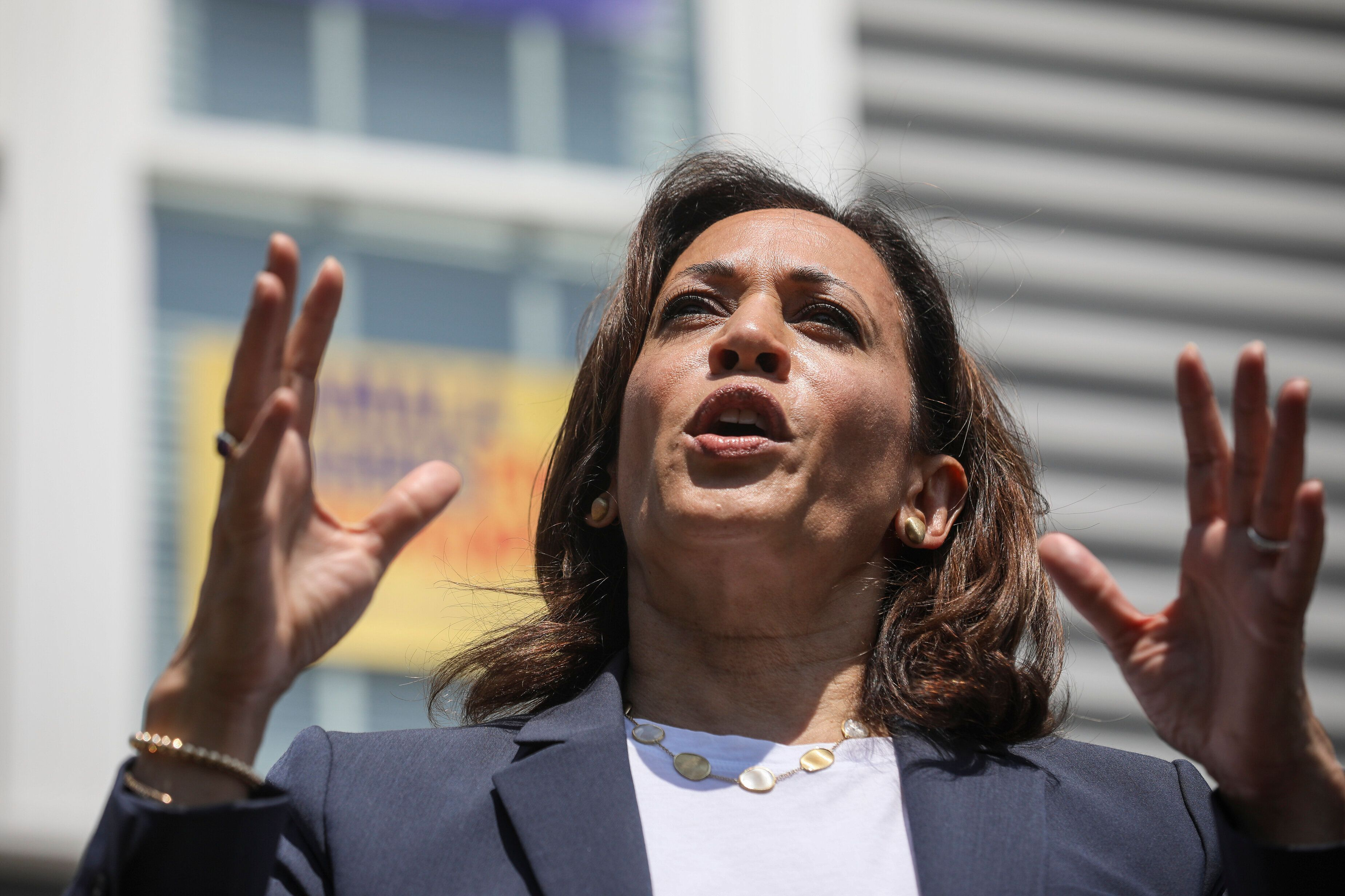 Sen. Kamala Harris (D-Calif.) rolled out a plan that would threaten drug company profits.