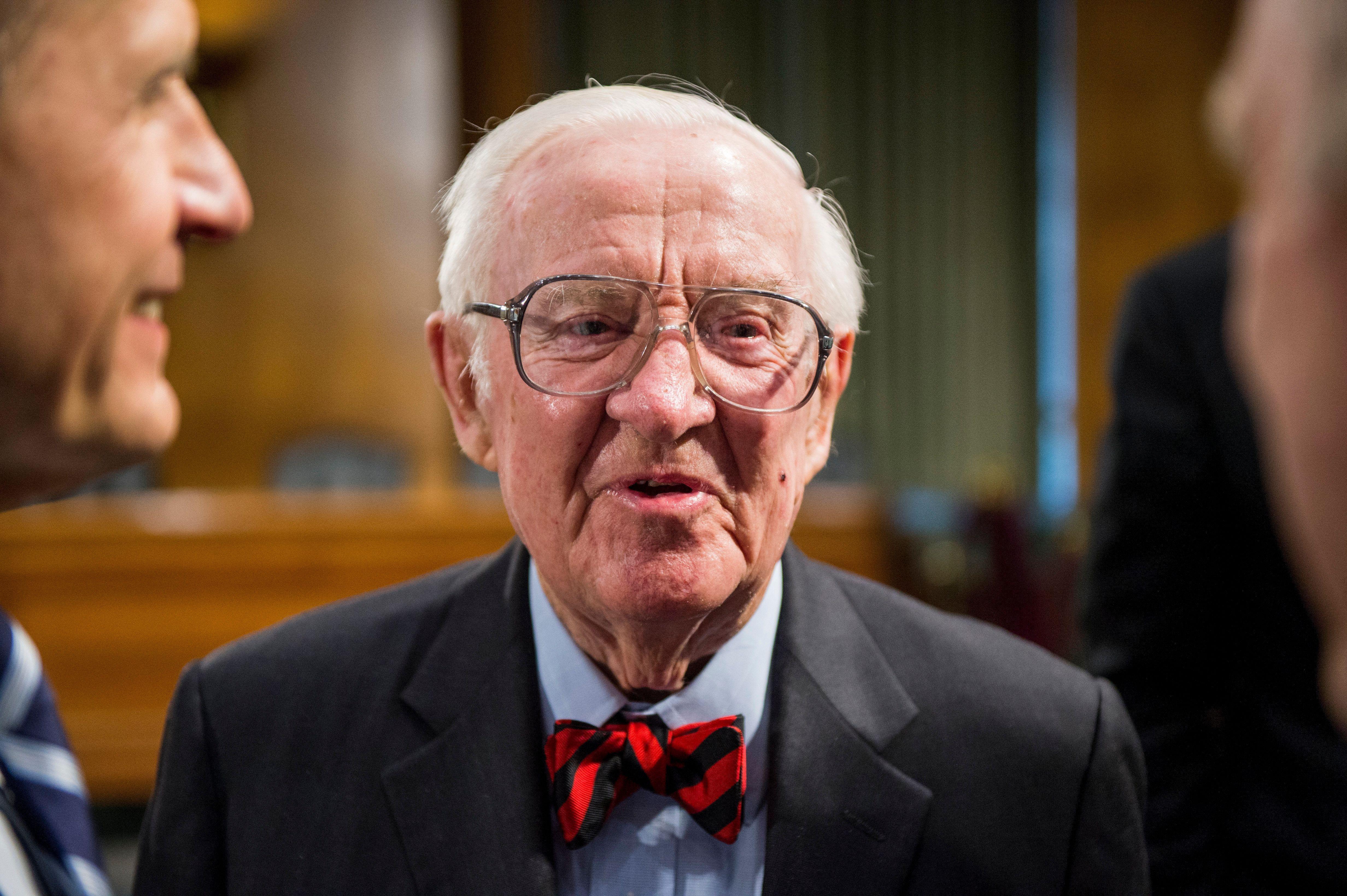 """Stevenswas described as a """"judge's judge."""""""