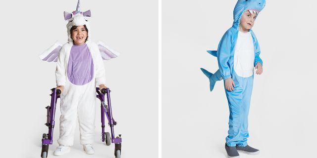 Targetalso dropped two other adaptive costumes sure to be hot for Halloween 2019 – a shark and unicorn, respectively– designed for youngsters with sensory-processing difficulties.