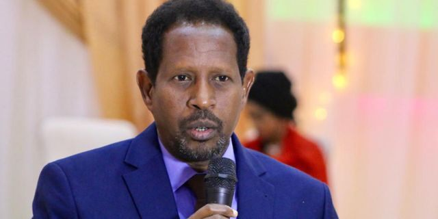 Abdirahman Omar Osman, the mayor of the capital of Somalia, was critically injured after a suicide bomber walked into his office.