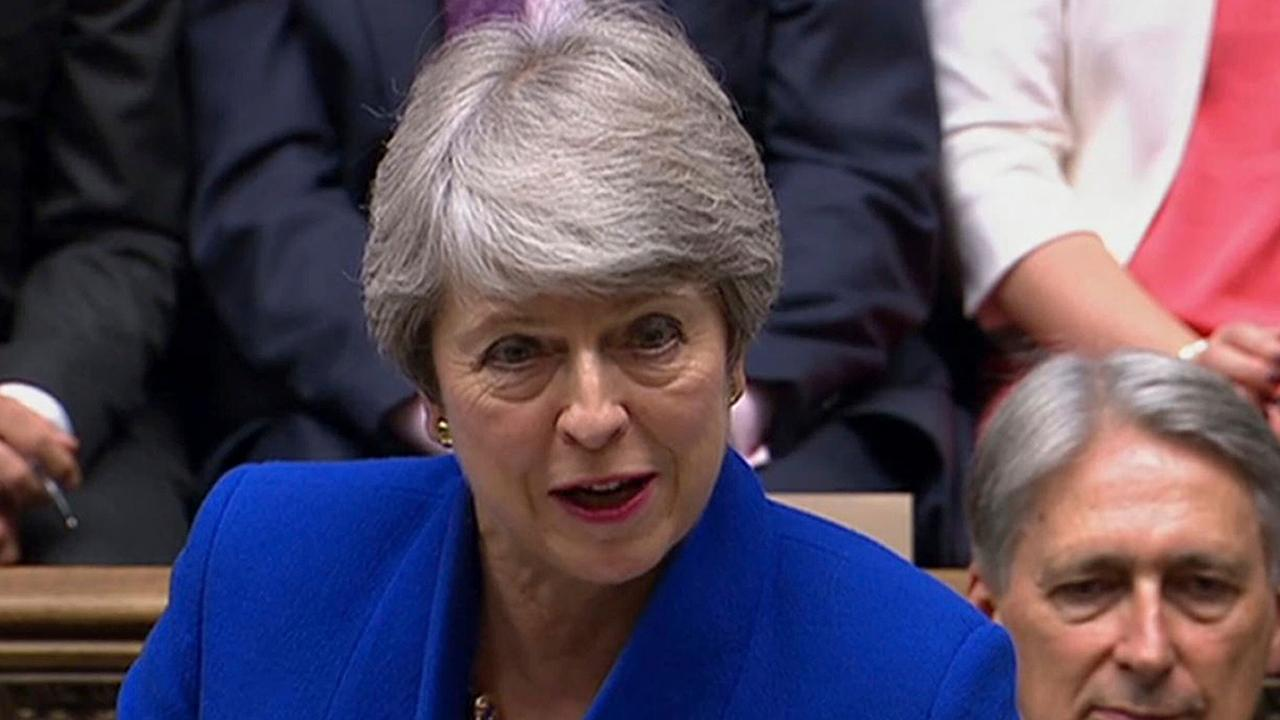 Theresa May holds final Prime Minister's Questions, defends Boris Johnson
