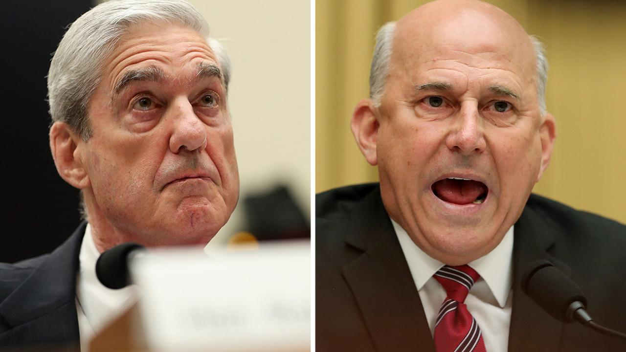 Rep. Louie Gohmert presses Robert Mueller on his friendship with former FBI Director James Comey