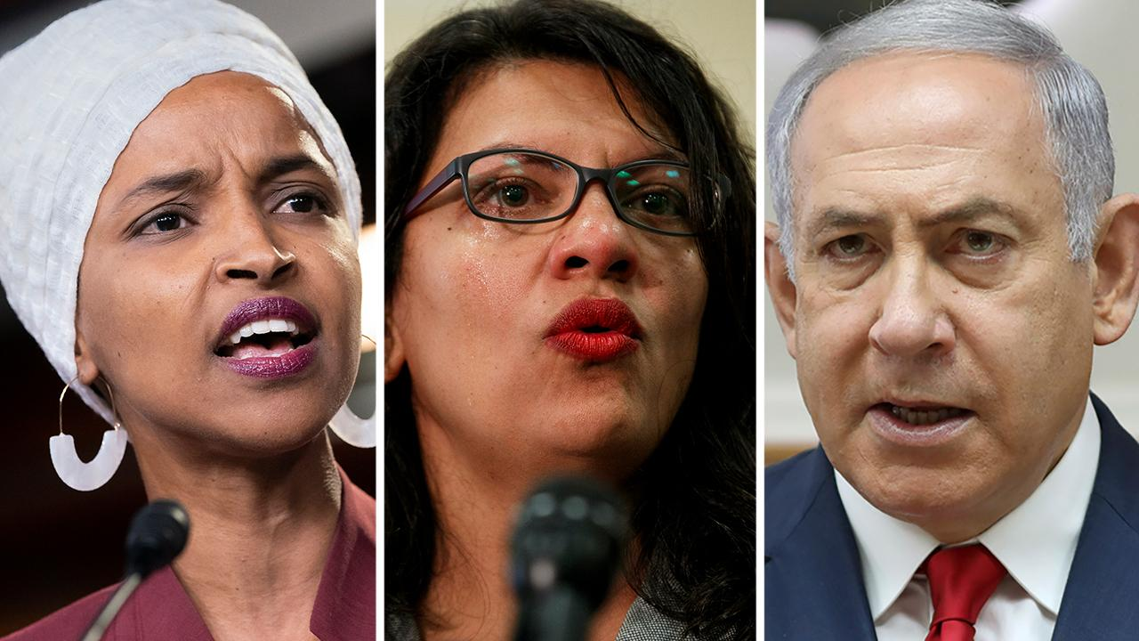 Netanyahu to have final say on whether Omar and Tlaib can visit Israel