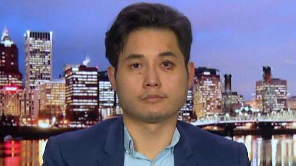 Conservative journalist says he has a brain hemorrhage after being attacked by Antifa protesters