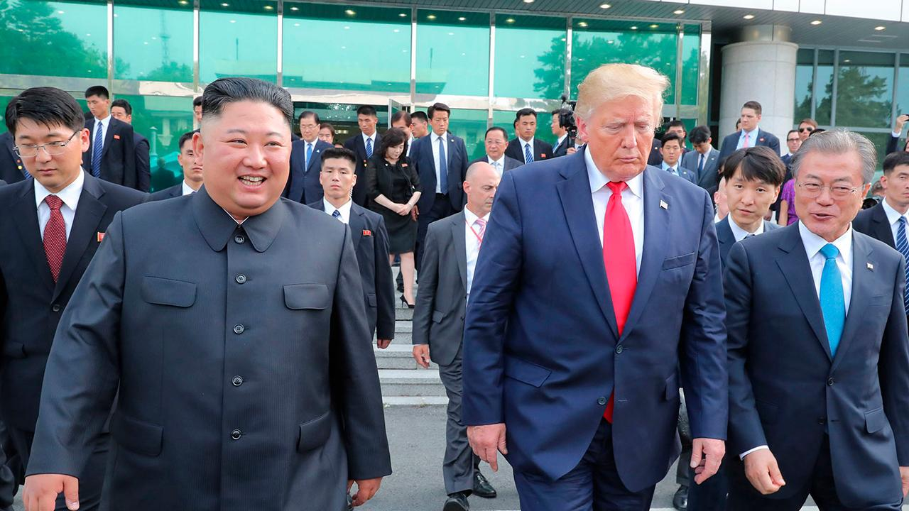 President Trump makes history in North Korea