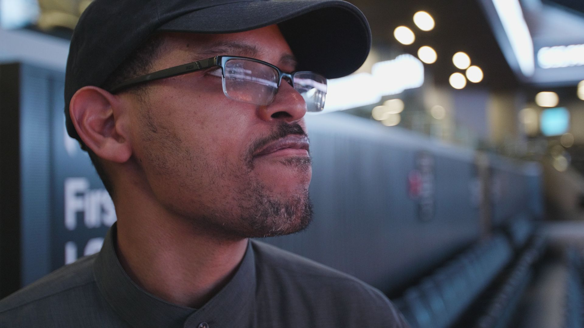 Miguel Mondesir, one of the people with I/DD who found employment at Barclays Center through AHRC.