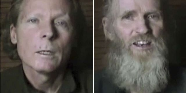 Kidnapped Professors: Australian Timothy Weeks and American Kevin King. (provided)