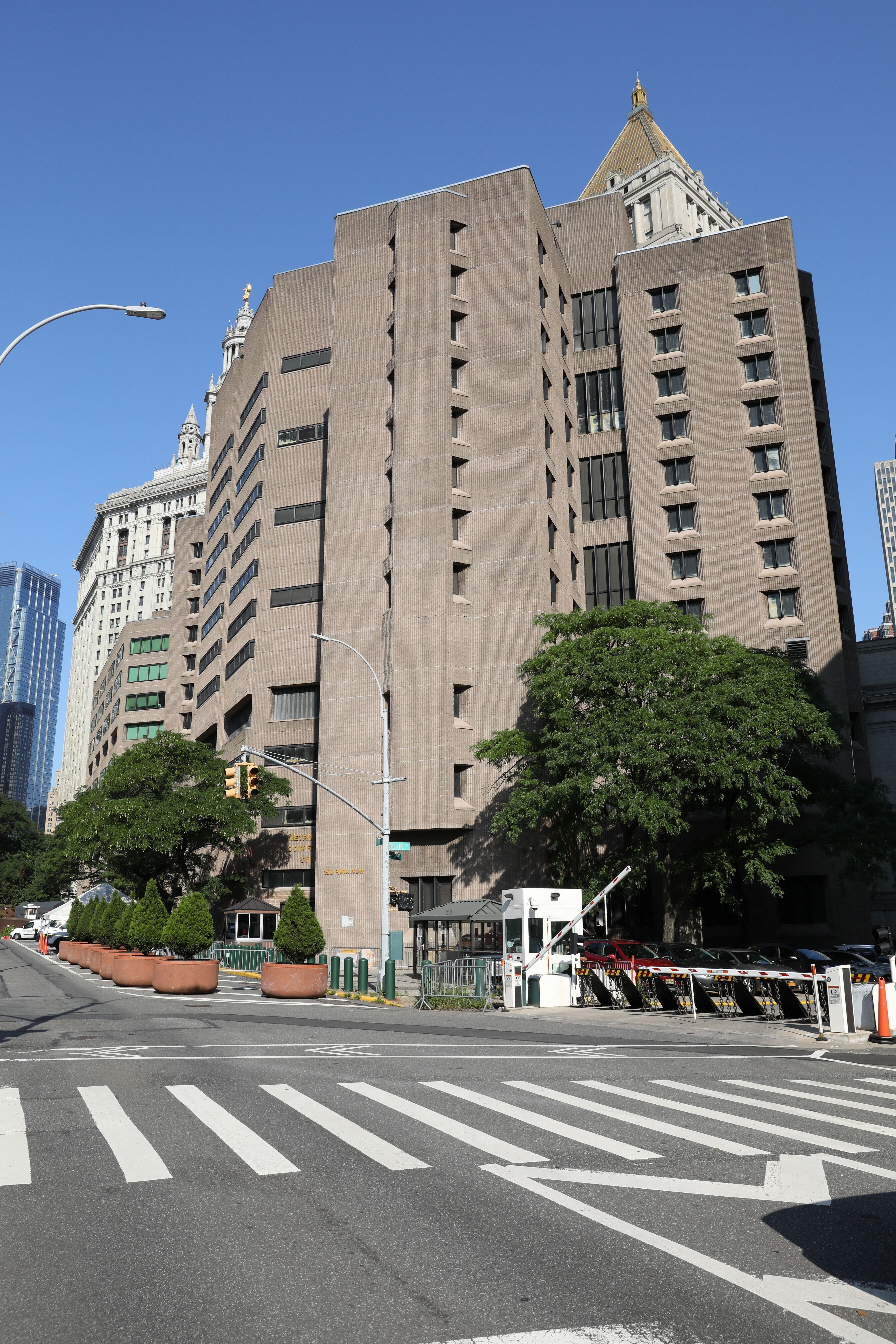Epstein is being held at the Metropolitan Correctional Center in New York City. The 66-year-old was found unconscious with in