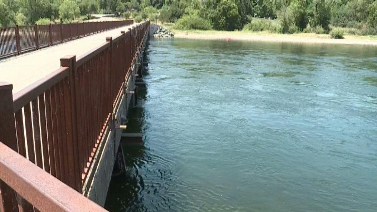 Fast-moving American River keeping first responders busy