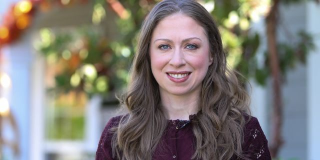 Chelsea Clinton is seen in Universal City, Calif., Oct. 9, 2018. (Getty Images)