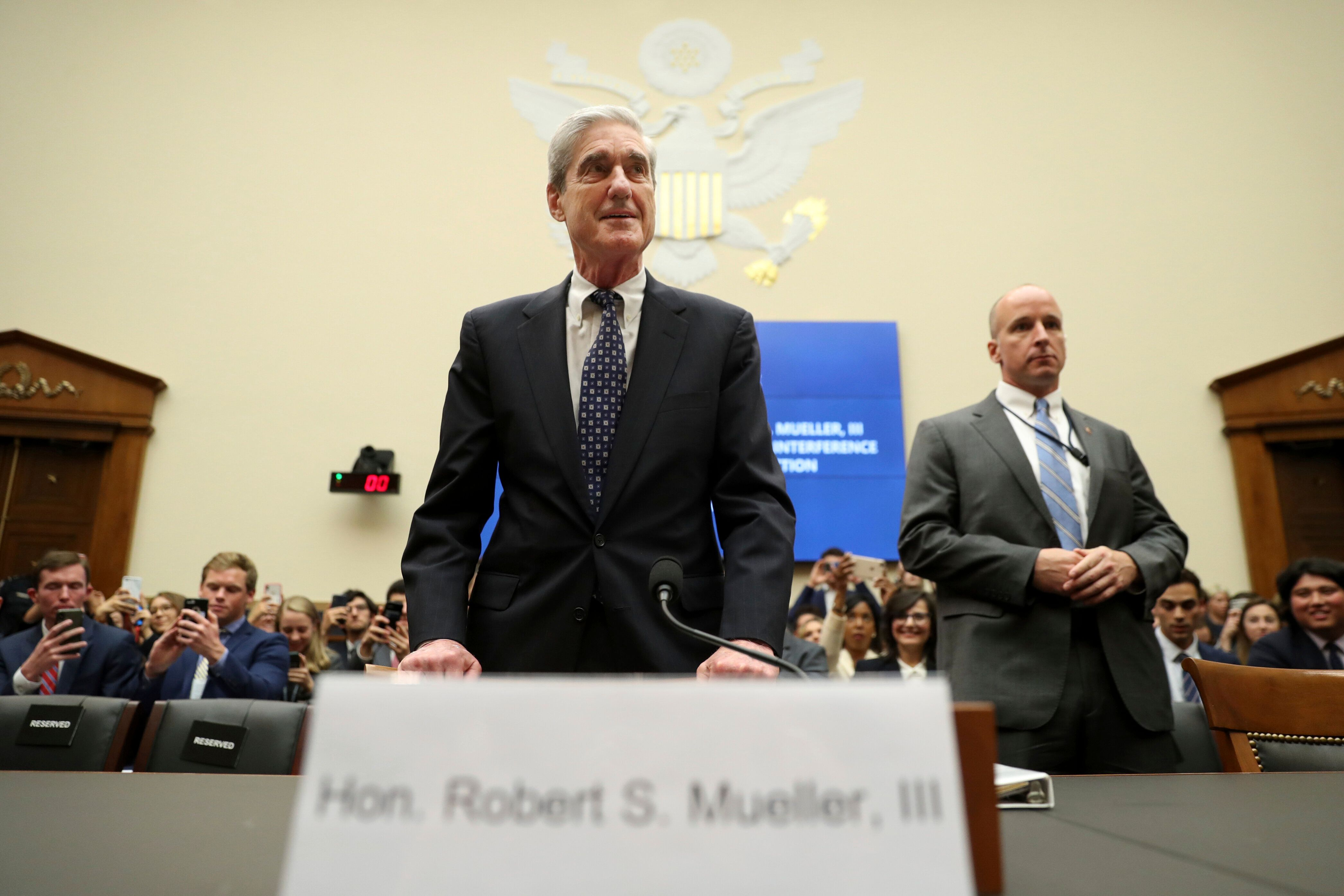 Special counsel Robert Mueller testified before the House Intelligence Committee and House Judiciary Committee on Wednesday.