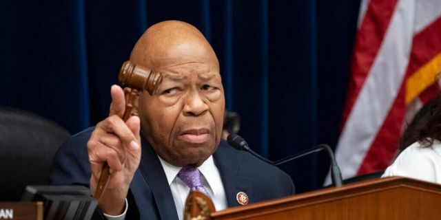 FILE: House Oversight and Reform Committee Chair Elijah Cummings, D-Md., leads a meeting on Capitol Hill in Washington.