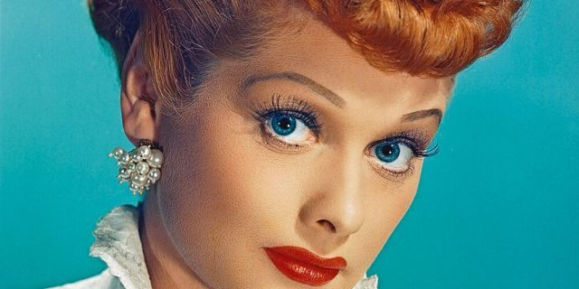 Lucille Ball as Lucy Esmeralda MacGillicuddy Ricardo, from 'I Love Lucy,' circa 1955. (Photo by Silver Screen Collection/Hulton Archive/Getty Images)