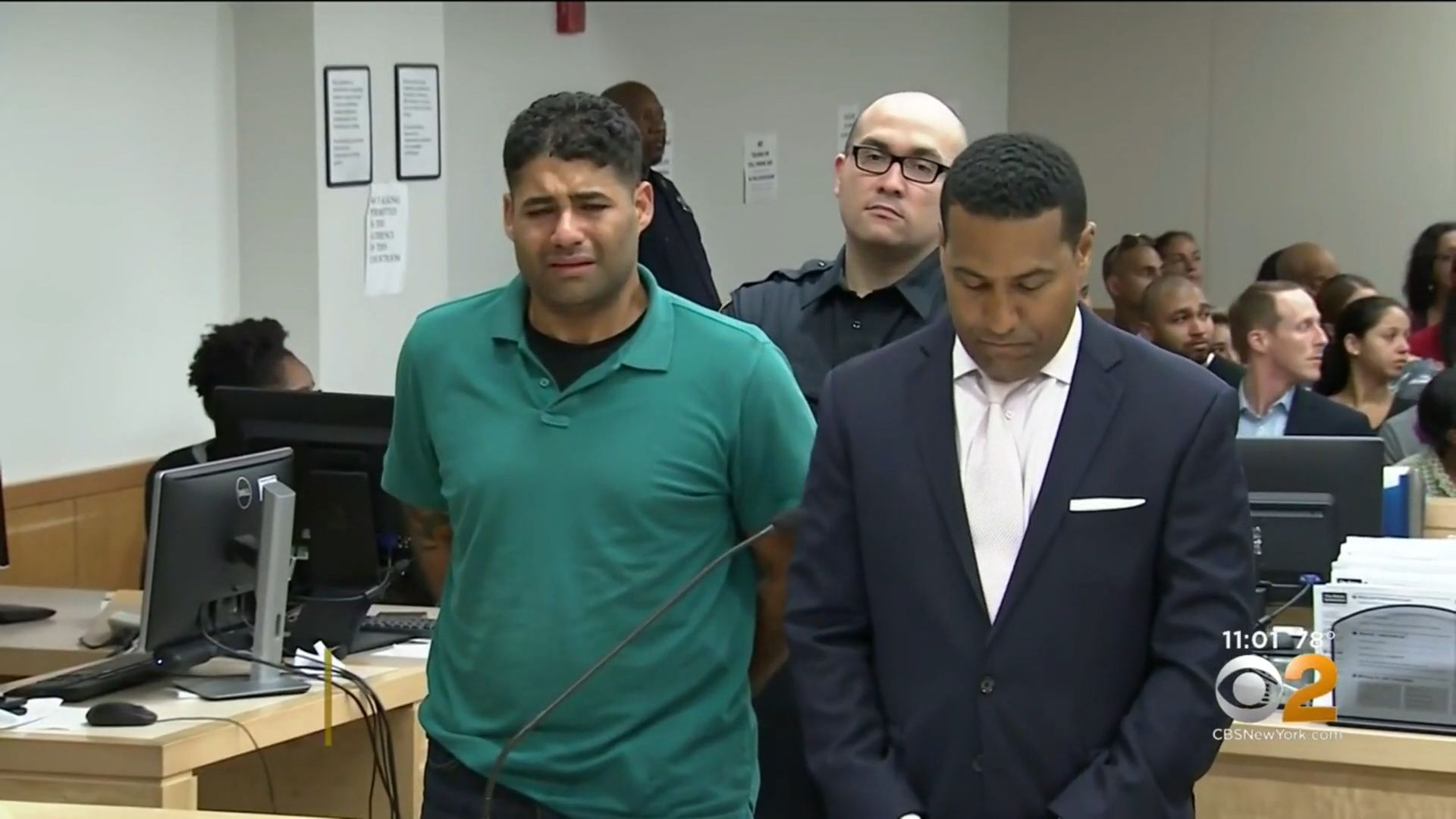 Juan Rodriguez, 39, pleaded not guilty in court on Saturday to manslaughter and criminally negligent homicide.
