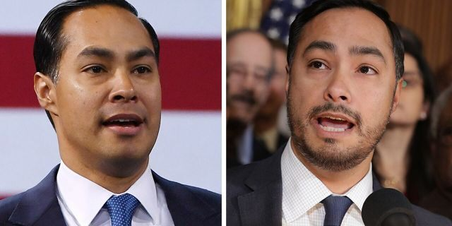 "Julián Castro, left, and Joaquin Castro, right, are often confused for one another. So Joaquin decided to grow his beard back ""so that people don't always think"" he's running for president."