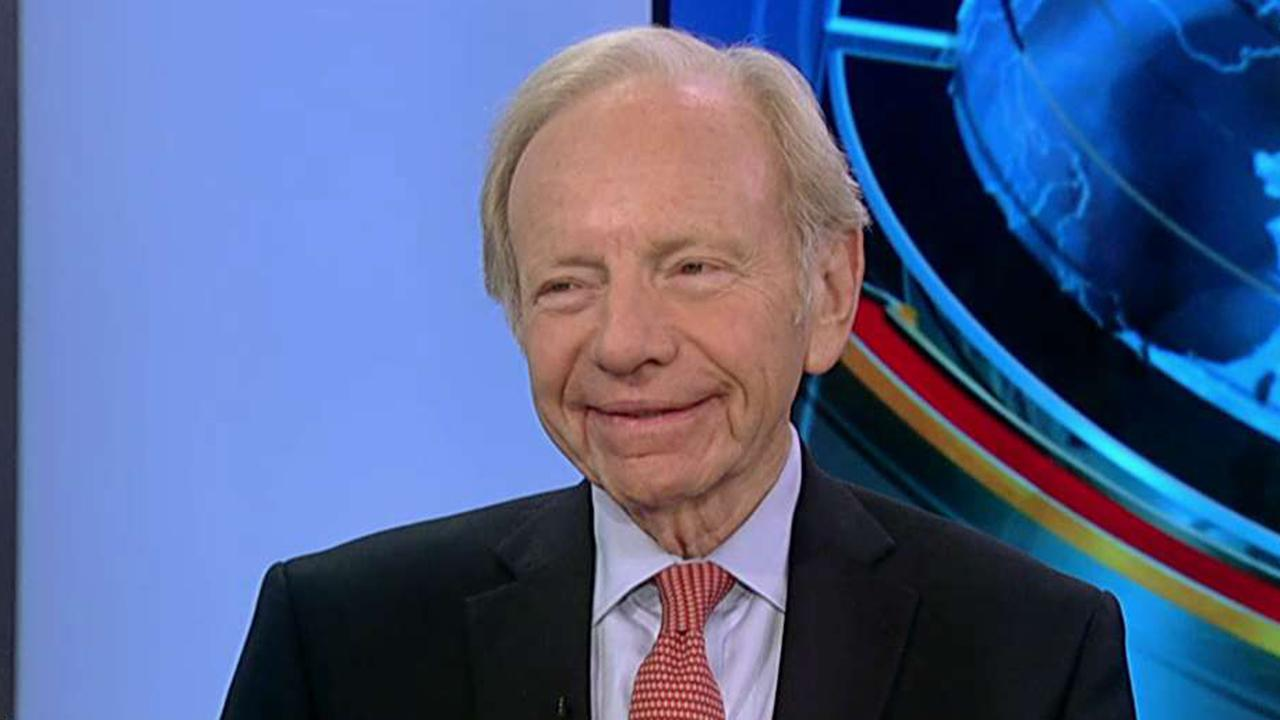 Joe Lieberman says President Trump's political feuds are hurting the country