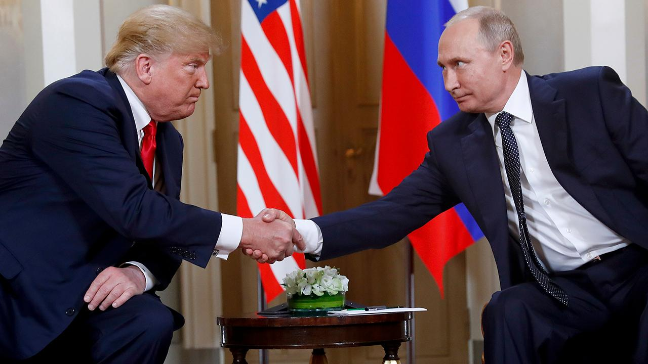 Trump appears to joke with Putin about election meddling, fake news
