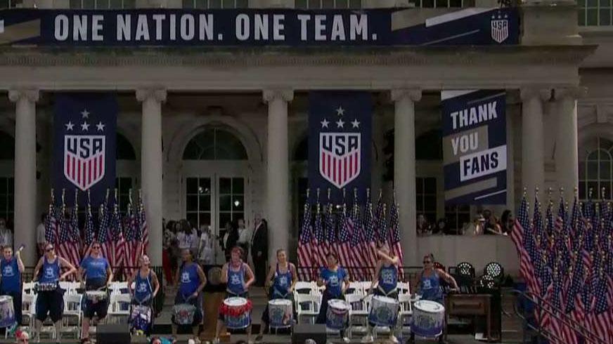 Women's National Soccer Team co-captain criticizes President Trump